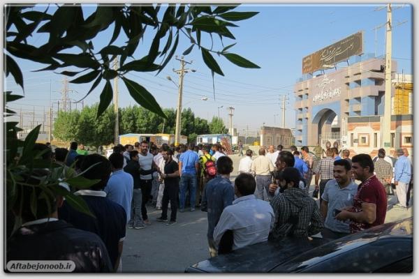 این تجمع اعتراضی که توسط کارگران سد چمشیر(شرکت سابیر) در جلوی ساختمان اداره مرکزی این سد اتفاق افتاد، تجمع کنندگان به پرداخت نشدن ۵ ماه حقوق معوقه خود اعتراض کردند.